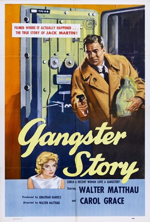 Gangster Story - Theatrical poster (thumbnail)