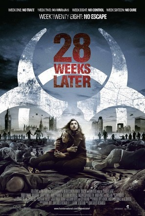 28 Weeks Later - Theatrical movie poster (thumbnail)