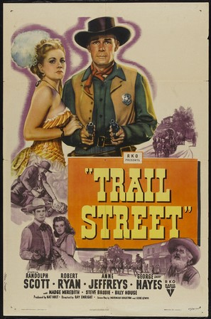 Trail Street - Movie Poster (thumbnail)
