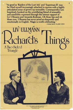 Richard's Things - Movie Poster (thumbnail)