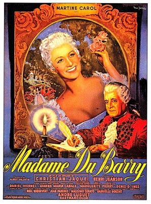 Madame du Barry - French Movie Poster (thumbnail)