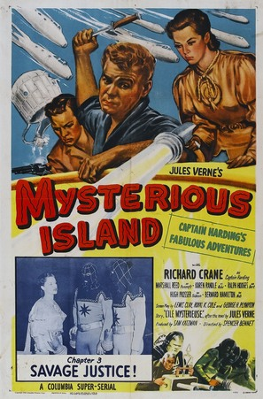 Mysterious Island - Movie Poster (thumbnail)