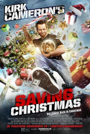 Saving Christmas - Movie Poster (thumbnail)