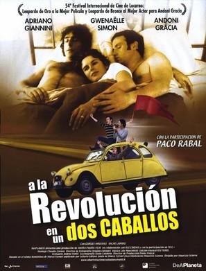 Alla rivoluzione sulla due cavalli - Spanish poster (thumbnail)