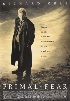 Primal Fear - Movie Poster (thumbnail)