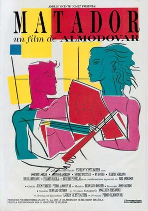 Matador - Spanish Movie Poster (thumbnail)