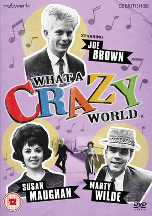 What a Crazy World - British DVD movie cover (thumbnail)