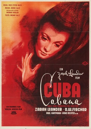Cuba Cabana - German Movie Poster (thumbnail)