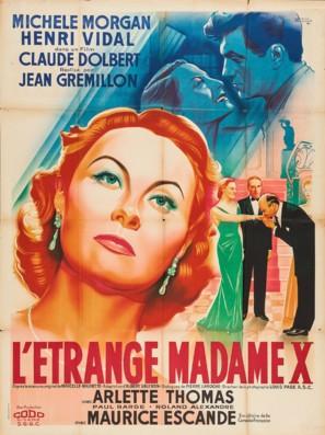 L'étrange Mme X