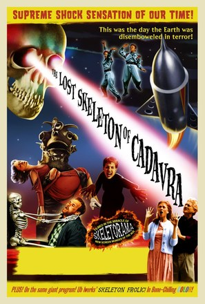 The Lost Skeleton of Cadavra - Movie Poster (thumbnail)