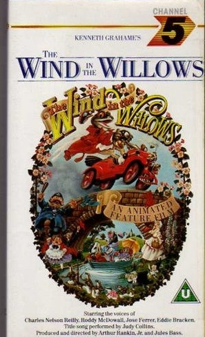 The Wind in the Willows - British VHS movie cover (thumbnail)