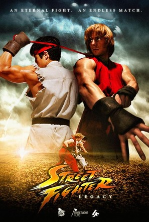 Streetfighter: Legacy - Russian DVD cover (thumbnail)