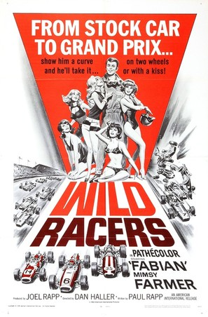 The Wild Racers - Movie Poster (thumbnail)