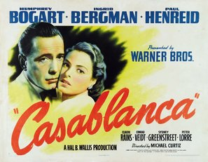 Casablanca - Movie Poster (thumbnail)