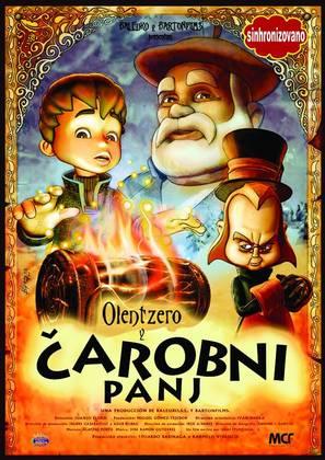 Olentzero y el tronco mágico - Serbian Movie Poster (thumbnail)