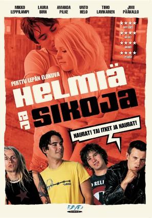 Helmiä ja sikoja - Finnish DVD movie cover (thumbnail)