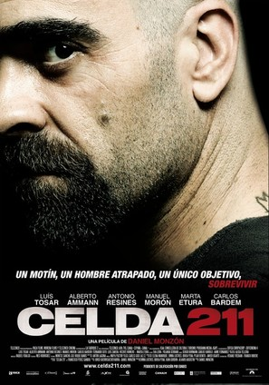Celda 211 - Spanish Theatrical movie poster (thumbnail)