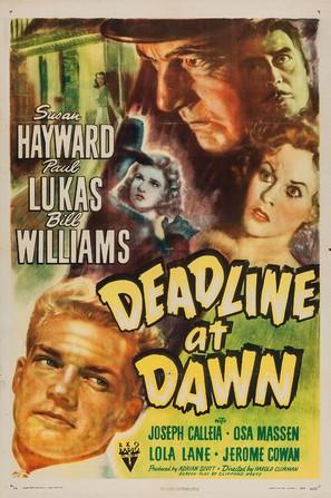 Deadline at Dawn - Movie Poster (thumbnail)