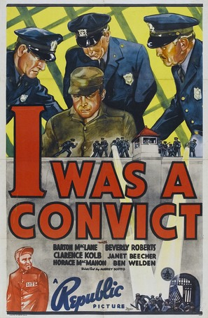 I Was a Convict - Movie Poster (thumbnail)