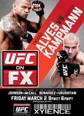 """UFC on FX"" - Movie Poster (thumbnail)"