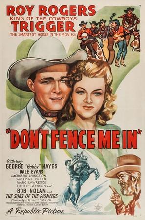 Don't Fence Me In - Movie Poster (thumbnail)