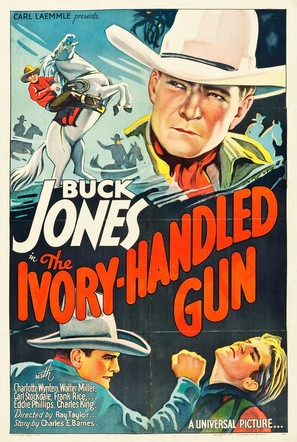 The Ivory-Handled Gun - Movie Poster (thumbnail)