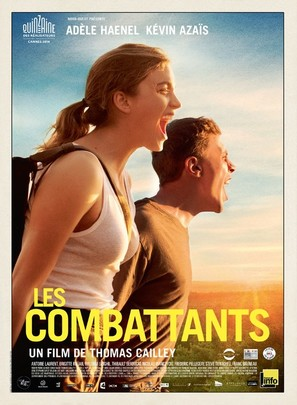Les combattants - French Movie Poster (thumbnail)