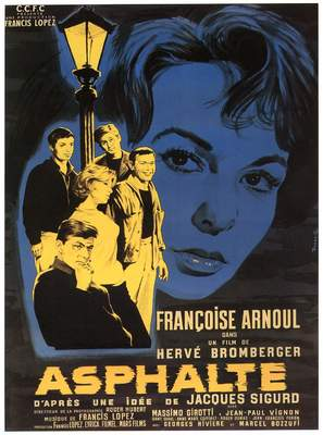 Asphalte - French Movie Poster (thumbnail)