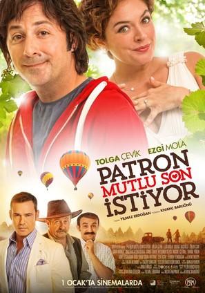Patron Mutlu Son Istiyor - Turkish Movie Poster (thumbnail)