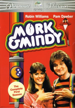 """Mork & Mindy"" - DVD movie cover (thumbnail)"