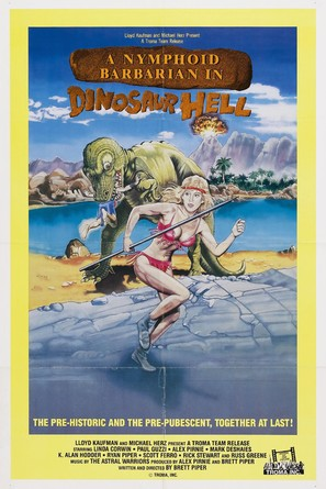 A Nymphoid Barbarian in Dinosaur Hell - Movie Poster (thumbnail)
