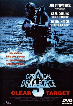 Operation Delta Force 3: Clear Target - Swedish DVD cover (thumbnail)