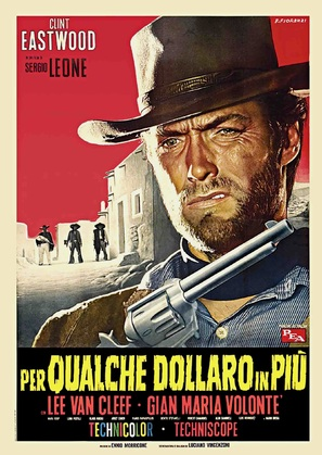Per qualche dollaro in più - Italian Movie Poster (thumbnail)