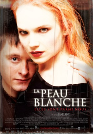 La peau blanche - French Movie Poster (thumbnail)