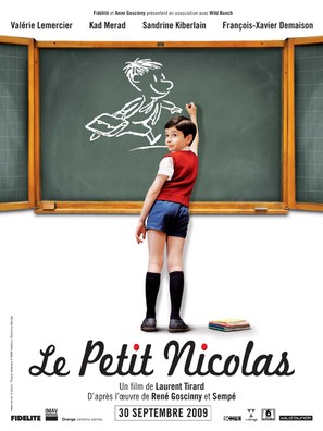 Le petit Nicolas - French Movie Poster (thumbnail)