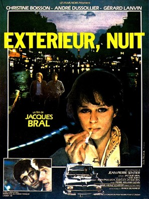 Extérieur, nuit - French Movie Poster (thumbnail)