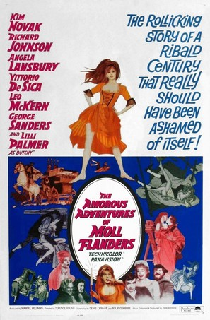 The Amorous Adventures of Moll Flanders - Movie Poster (thumbnail)