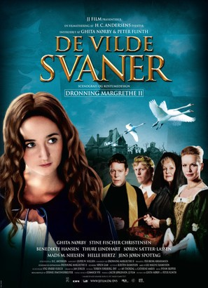 De vilde svaner - Danish Movie Poster (thumbnail)