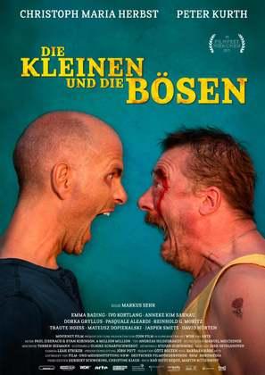 Die Kleinen und die Bösen - German Movie Poster (thumbnail)