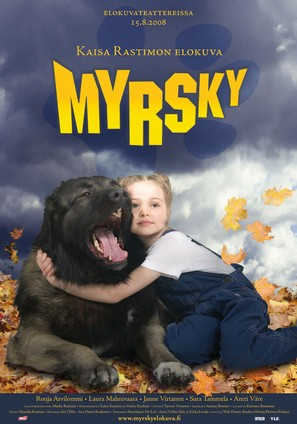 Myrsky - Finnish Movie Poster (thumbnail)