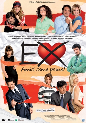 Ex: Amici come prima! - Italian Movie Poster (thumbnail)