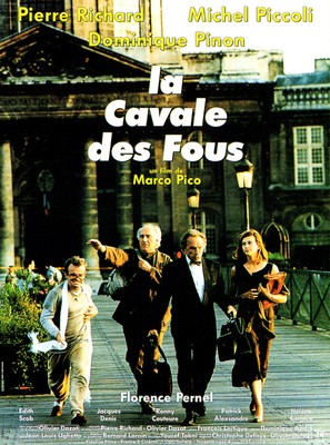 Cavale des fous, La - French Movie Poster (thumbnail)
