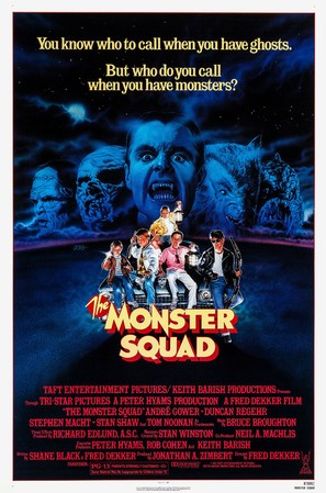 The Monster Squad - Movie Poster (thumbnail)