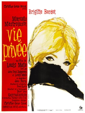 Vie privée - French Movie Poster (thumbnail)