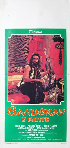 """""""Sandokan"""" - Italian Movie Poster (thumbnail)"""