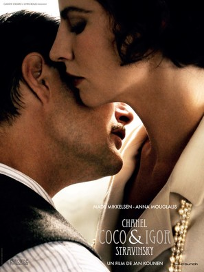 Coco Chanel & Igor Stravinsky - French Movie Poster (thumbnail)
