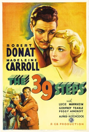 The 39 Steps - Movie Poster (thumbnail)