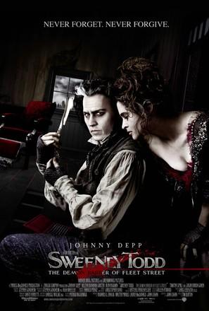 Sweeney Todd: The Demon Barber of Fleet Street - Movie Poster (thumbnail)