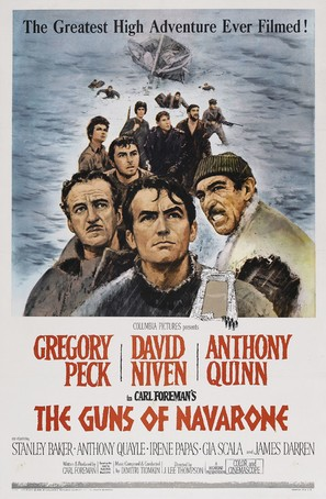 The Guns of Navarone - Movie Poster (thumbnail)