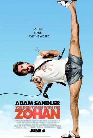 You Don't Mess with the Zohan - Movie Poster (thumbnail)